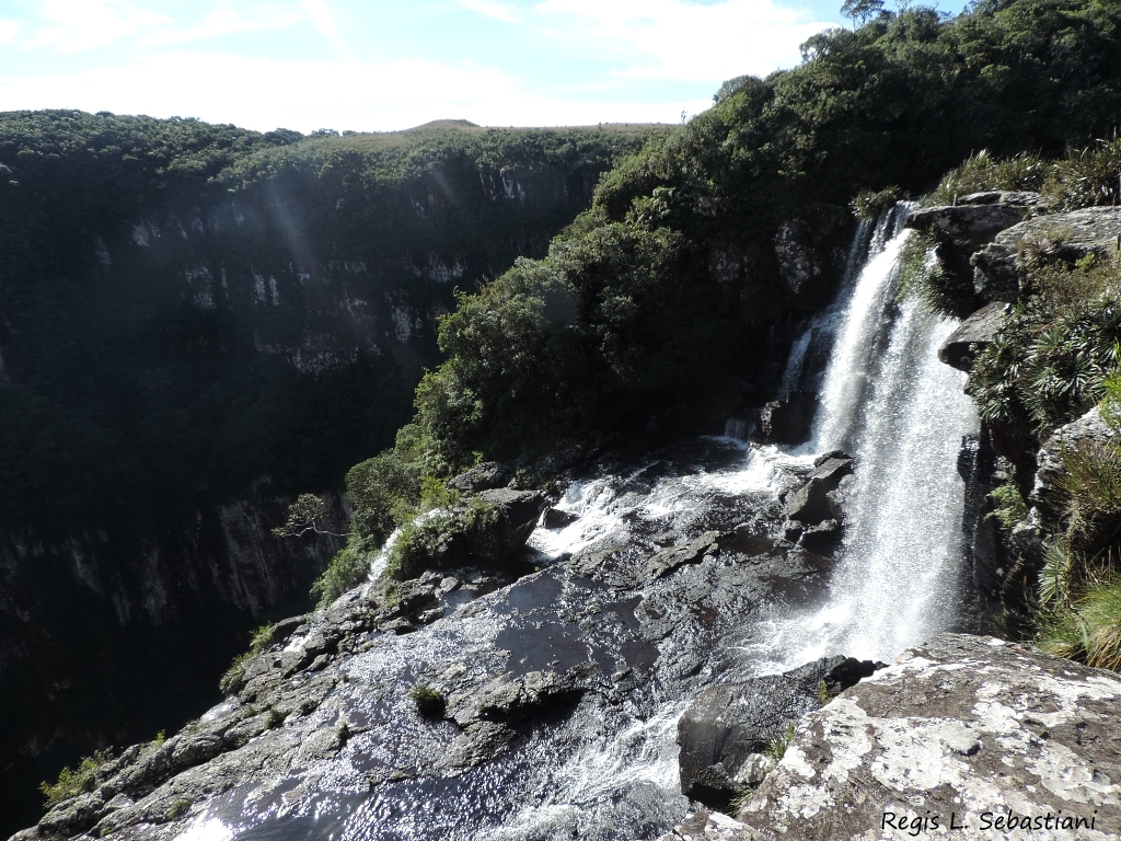 Cachoeira do tigre preto - Fotos de Cambará do Sul